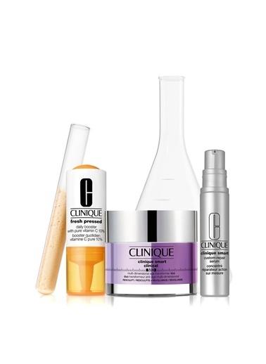 Clinique Clinique Tüm Cilt Tipleriiçin Derm Pro Solutions 25+ Cilt Bakım Seti Renksiz